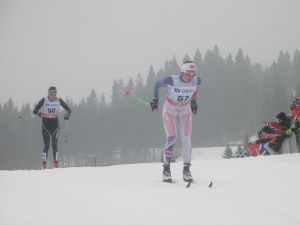 Me during the 30km race in Holmenkollen