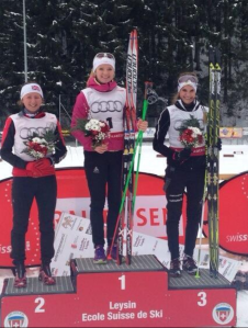 Swiss national champs podium