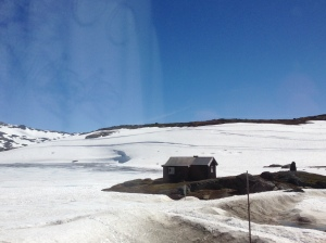 Sognefjell - sun and snow